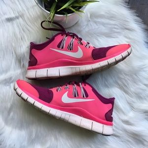 NIKE FREE Running Shoes Women's 8 EUC
